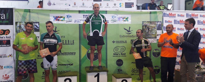 Nuestro Anjano Paco Robles Campeón del Open de Extremadura MTB maratón M40